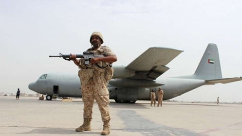"""الإمارات تشرع بإنشاء مليشيا مسلحة في سقطرى خارج إطار الدولة تحت مسمى """"الحزام السقطري"""""""