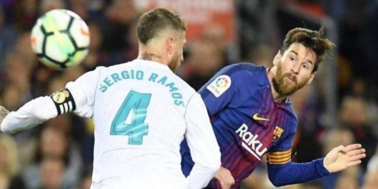 موعد الكلاسيكو الاول بين برشلونة وريال مدريد في الدوري الاسباني 2018/2019