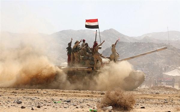 قوات الجيش تحبط محاولة تسلل للمليشيات وسقوط قتلى وجرحى في البيضاء