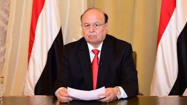 الرئيس هادي يلقي كلمة للشعب اليمني بمناسبة 14 اكتوبر