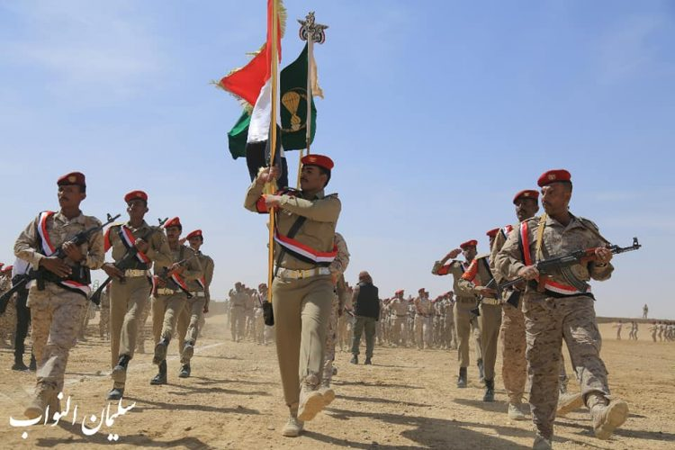 مأرب: الجيش ينظم عرضاً عسكرياً بمناسبة ثورة 14 اكتوبر
