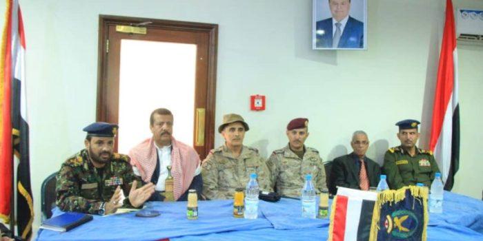 في لقاء مع قيادة التحالف.. الداخلية تناقش الأوضاع الأمنية في المدن المحررة