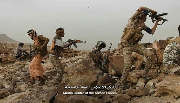 قوات الجيش الوطني تحرر مواقع جديدة في مديريتي كتاف وباقم بصعدة