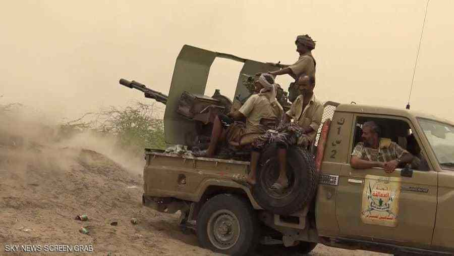 قوات الجيش تشن عملية تمشيط واسعة وتغتنم عدد كبير من قذائف الهاون في الحديدة