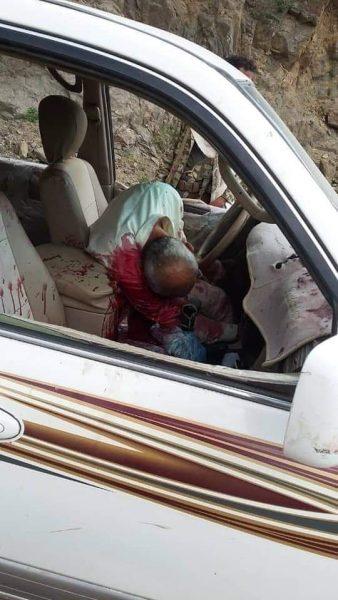 مقتل شيخ قبلي بكمين مسلح في منطقة الأمجود شمالي تعز