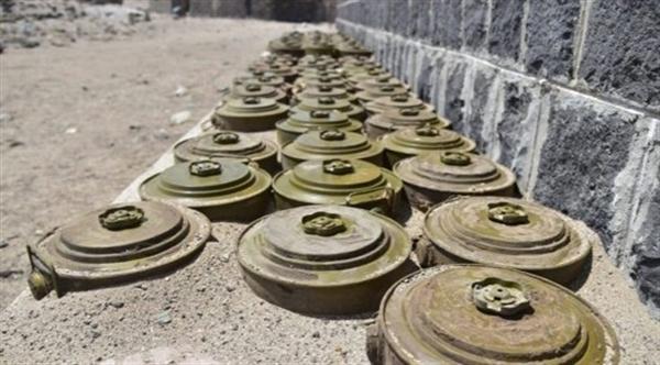 قوات الجيش تتمكن من تفكيك شبكة ألغام زرعتها المليشيات غربي التحيتا في الحديدة