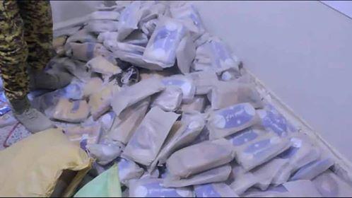 نيابة مأرب تتلف أكثر من 1900 كجم من مادة الحشيش المخدر