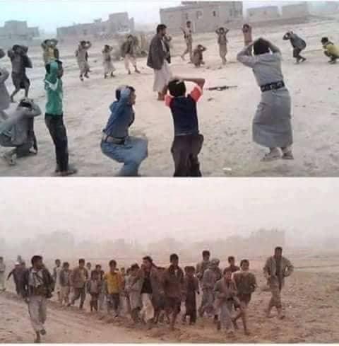 مليشيا الحوثي تجبر الاطفال من أقناء القبائل على الالتحاق بجبهات القتال
