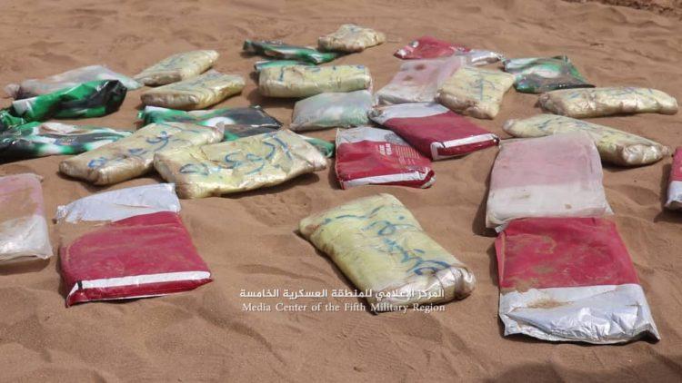 قوات الجيش تضبط 30 كيلو من مادة الحشيش المخدر في حيران بحجة
