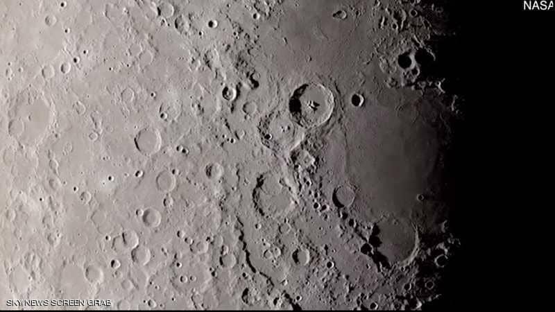 """ناسا تنشر فيديو """"قريب جدا"""" لسطح القمر.. جولة نهار كامل"""