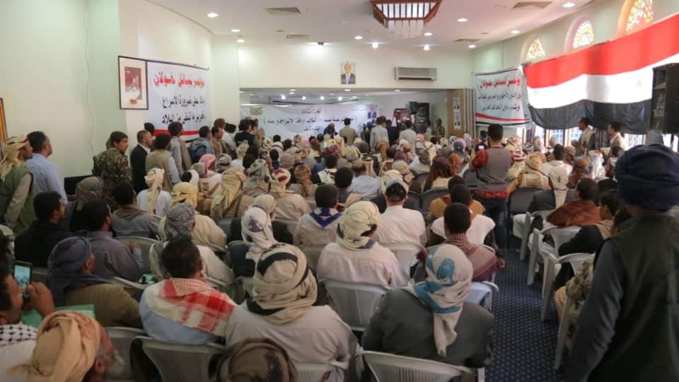 قبائل خولان تدعو للإلتفاف حول الشرعية لتحرير ما تبقى من الأراضي اليمنية تحت سيطرة المليشيات