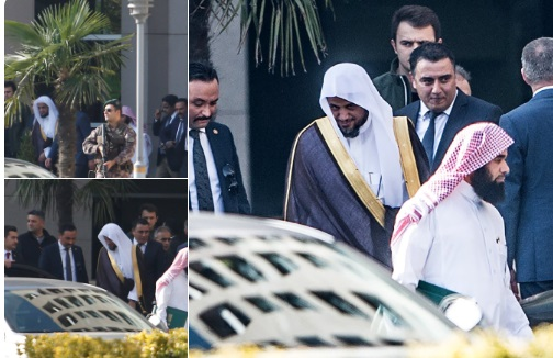 بعد وصوله إلى تركيا.. النائب العام السعودي يزور قنصلية بلاده في اسطنبول