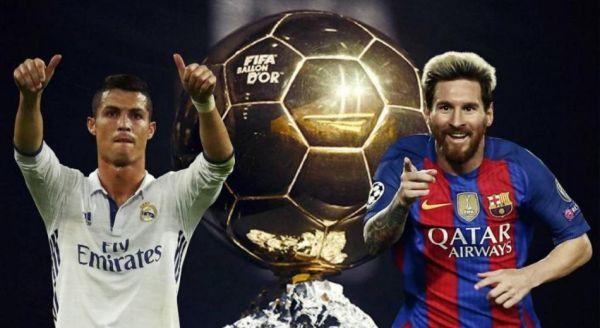 """رونالدو يُفجرها: ميسي لن ينافس على """"الكرة الذهبية"""""""