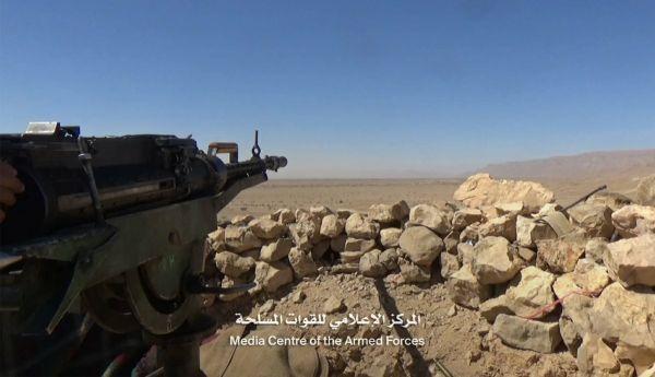 9 حوثيين يلقون مصرعهم في مواجهات مع قوات الجيش الوطني شرقي صنعاء