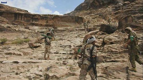 قوات الجيش الوطني تتقدم في كتاف صعدة وتسيطر على مواقع جديدة