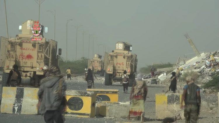 الحديدة: الجيش الوطني يسيطر على شارع الميناء ودوار يمن موبايل