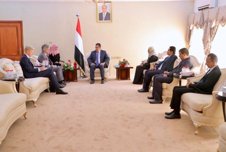 رئيس الوزراء يستقبل المبعوث الخاص للسويد إلى الشرق الأوسط وشمال أفريقيا بيتر سيمباي