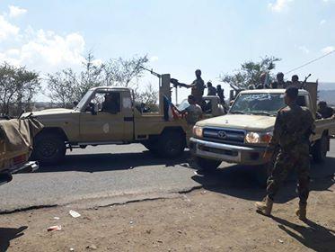 قوات الجيش تطلق عملية عسكرية في دمت بالضالع وتحرر مواقع جديدة