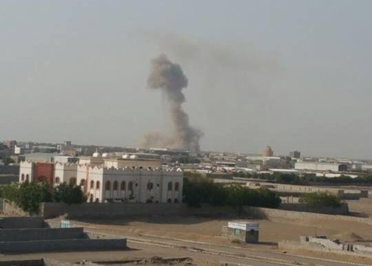 التحالف العربي يدمر أكبر مركز عمليات لمليشيا الحوثي تحت الأرض في مطار الحديدة