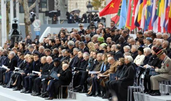 زعماء العالم في باريس لإحياء مئوية هدنة الحرب العالمية الأولى