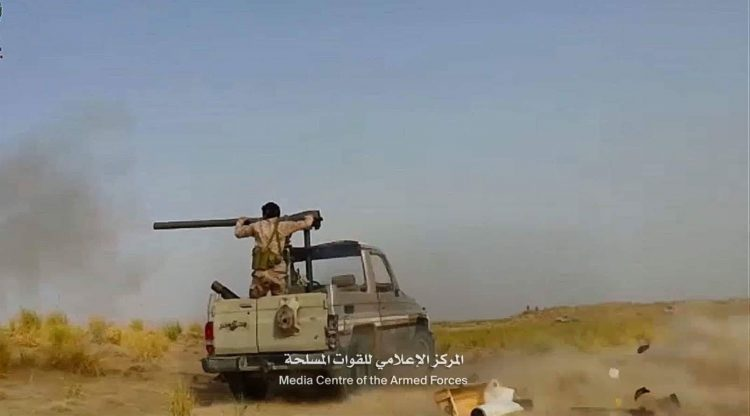 الجيش الوطني يشن هجوما واسعا على مواقع المليشيا في برط العنان ويكبدهم خسائر فادحة
