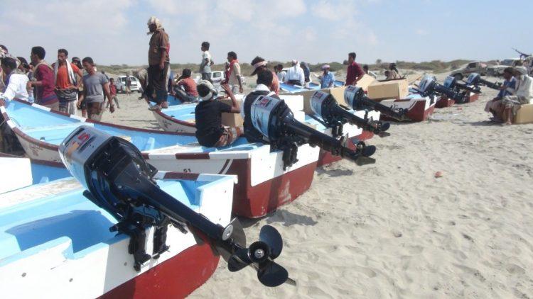 سفن ايرانية تهدد الصيادين اليمنيين