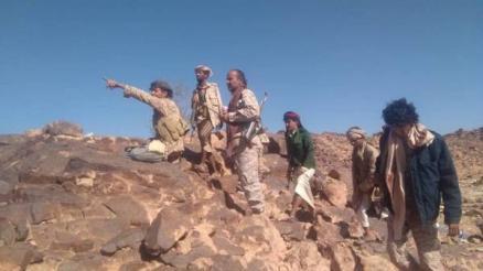 قوات الجيش تحبط هجوما لمليشيا الحوثي في جبهة الملاجم بالبيضاء وتكبدها خسائر فادحة