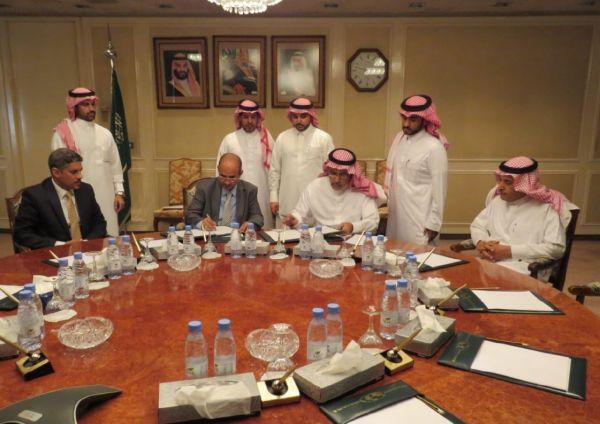 اليمن توقع اتفاق مع السعودية لتمديد مشروع رافعات لعدد من الموانئ اليمنية