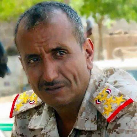نجاة قائد اللواء 35 مدرع من محاولةاغتيال في مديرية المعافر بتعز
