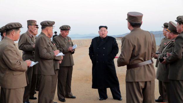كوريا الشمالية تختبر سلاحا جديدا فائق التكنولوجيا