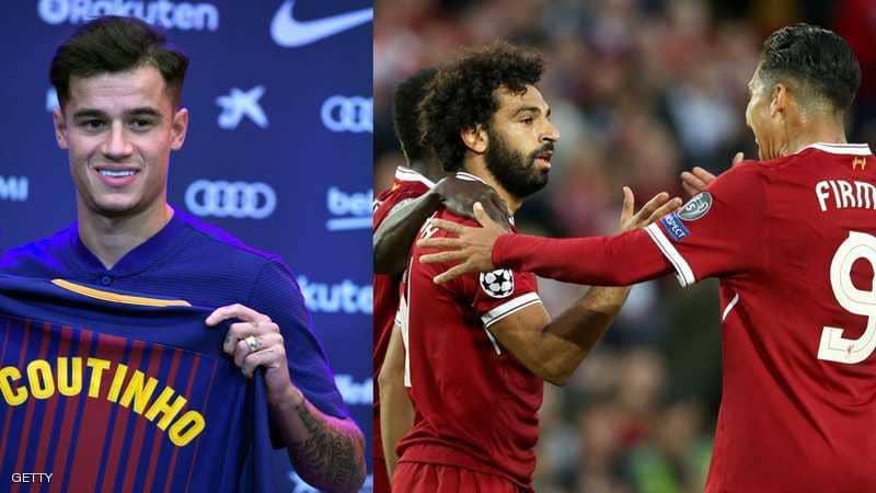 """""""اتفاق"""" يمنع برشلونة من ضم لاعبي ليفربول"""