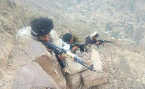 قوات الجيش تحكم سيطرتها على مواقع استراتيجية شمالي لحج