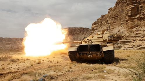 الجيش الوطني يبدأ بتنفيذ عملية عسكرية واسعة لفك الحصار عن حجور