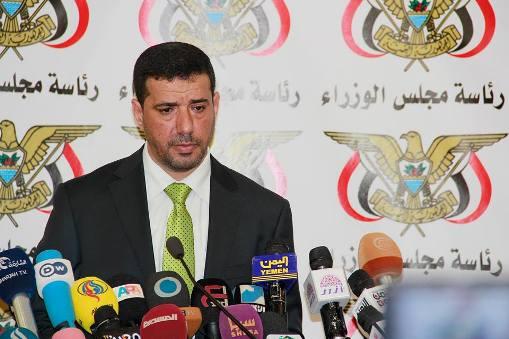 المتحدث باسم الحكومة: الحوثيون لم يكشفوا عن أسماء الجرحى بسبب وجود لبنانيين وإيرانيين بينهم