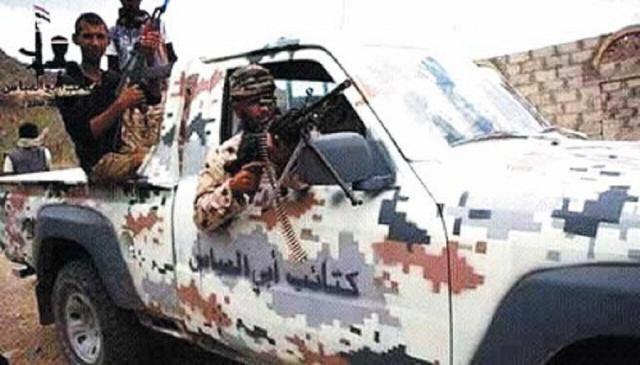 نقطة تابعة لأبو العباس المدعوم إماراتيا تعدم جندي باللواء 17 وتنهب سلاحه الشخصي غرب تعز