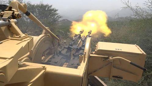 قوات الجيش تصد هجوم لمليشيا الحوثي شرق مدينة تعز