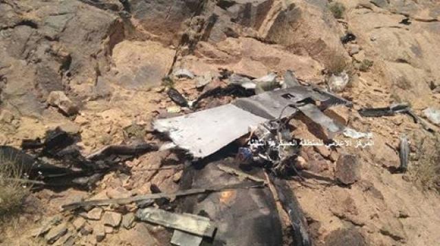 الجيش الوطني يسقط طائرة مسيرة تابعة لمليشيا الحوثي في البيضاء