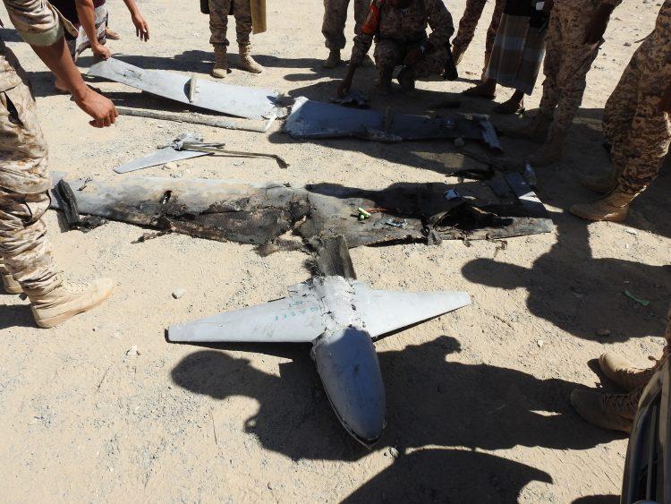 قوات الجيش الوطني تسقط طائرة مسيرة تابعة لمليشيا الحوثي في مأرب