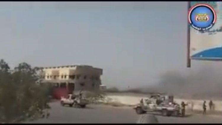 الحديدة: الجيش الوطني يسيطر على مقر القوات البحرية وعدد من البنايات
