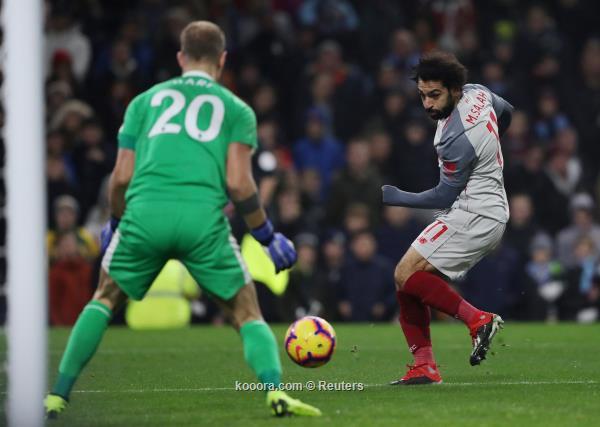 ليفربول يفوز بصعوبة على بيرنلي