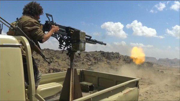 الجيش الوطني يشن هجوما واسعا ويسيطر على عدة مواقع في مدينة دمت بالضالع