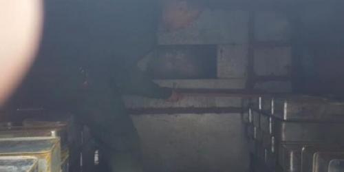 ضبط شحنة ذخائر كانت في طريقها الى عدن