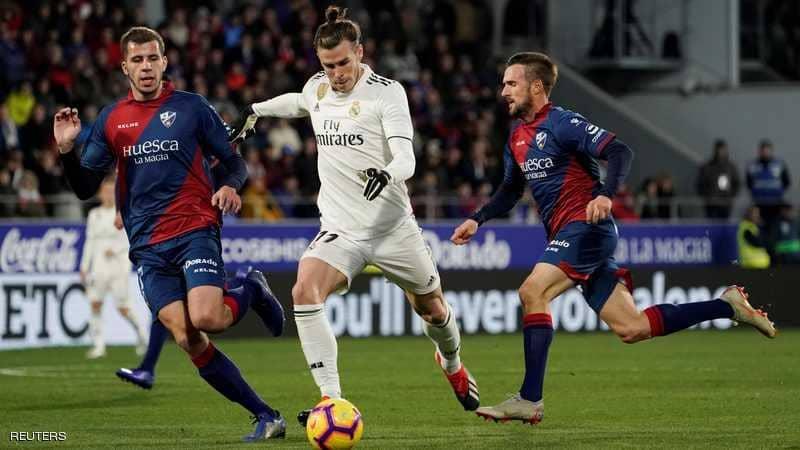 """فوز """"قيصري"""" لريال مدريد على متذيل الدوري الإسباني"""