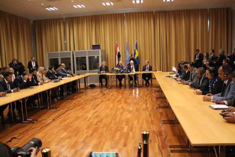 الشرط الذي طرحه الوفد الحوثي للتوقيع على اتفاق مشاورات السويد