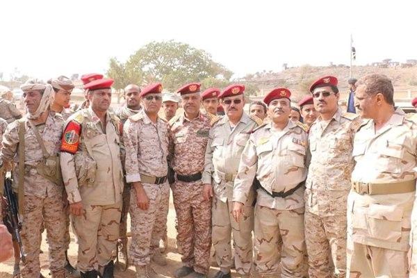 قيادات تعز العسكرية تجدد دعوتها للشرعية والتحالف بدعم استكمال تحرير المحافظة