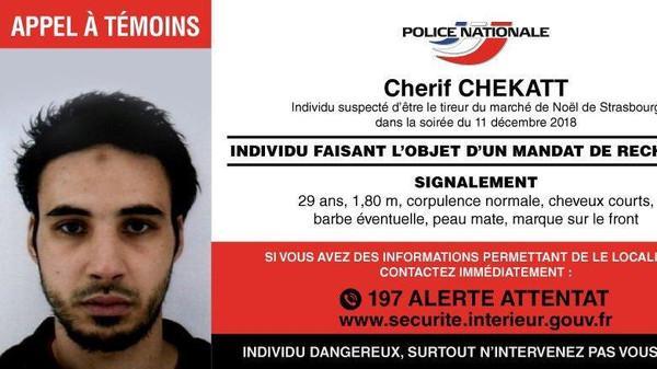 الشرطة الفرنسية تعلن مقتل منفذ هجوم ستراسبورغ