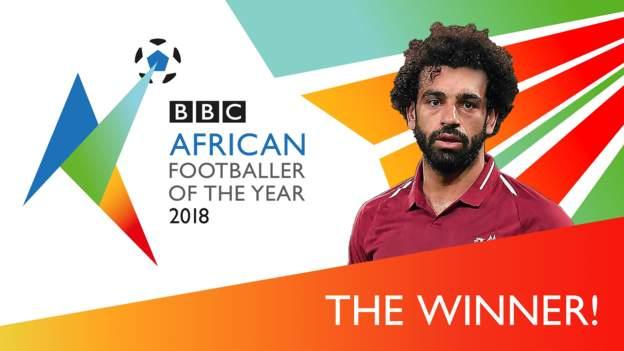 """للمرة الثانية على التوالي.. """"بي بي سي"""" تمنح المصري محمد صلاح جائزة افضل لاعب افريقي لعام 2018"""