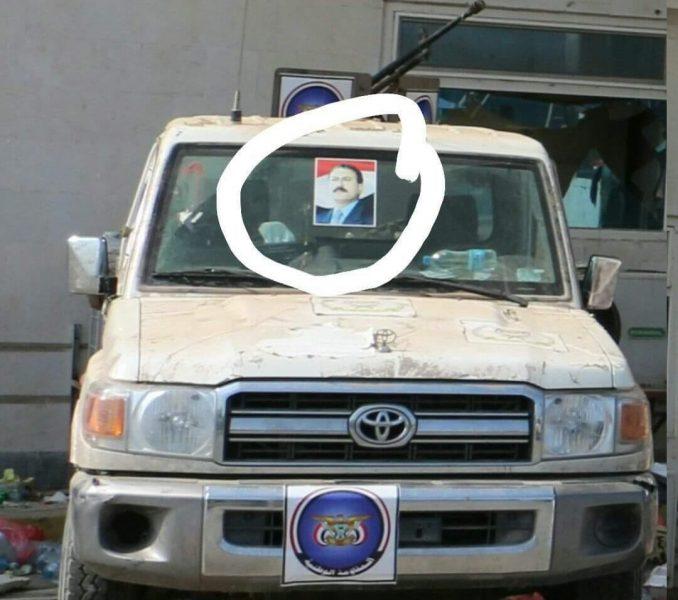 شاهد بالصورة.. علي عبدالله صالح يعود للواجهة في جبهات الحديدة