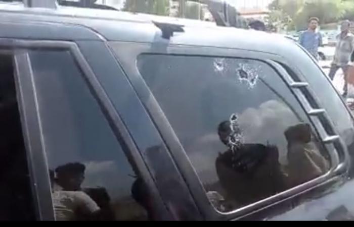 """""""أبو اليمامه"""" التابع للإمارات يعتدي على عجوز في عدن"""