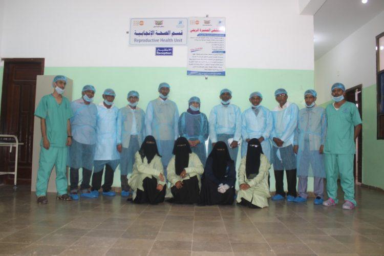 مؤسسة كل البنات للتنمية تستكمل صيانة وإعادة تأهيل مستشفى المنيرة بالحديدة (صور)